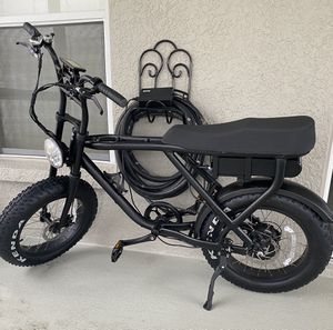 E bike electric fat bike bicycle for Sale in Orlando, FL