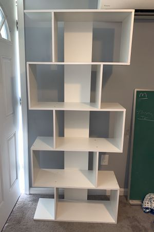 White Shelf organizer for Sale in Camp Springs, MD