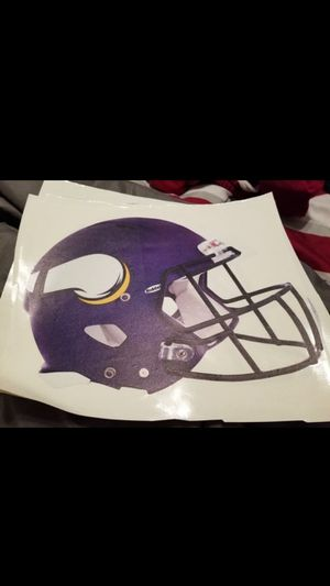 Vikings fathead 11x7 for Sale in Fall River, MA