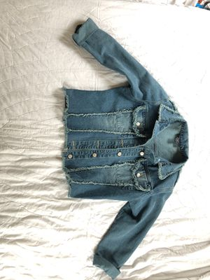Jamie Nicole Jean Jacket Size 14 for Sale in Charlotte, NC
