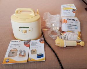 Medela symphony hospital grade breast pump complete see pictures I'm in fontana message only when ready to pick up for Sale in Fontana, CA