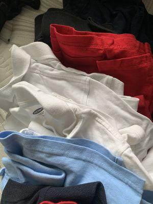 Boys uniform polo in good condition 20 for 10 variety color polos for Sale in Atlanta, GA