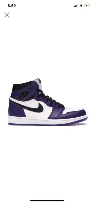 Air Jordan 1 court purple for Sale in Amherst, NY