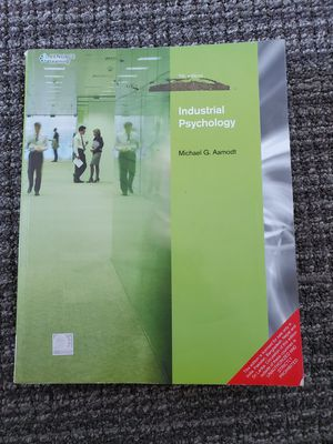 Cengage Learning Industrial Psychology 7th Ed by Michael G. Aamodt Paperback for Sale in Redwood City, CA