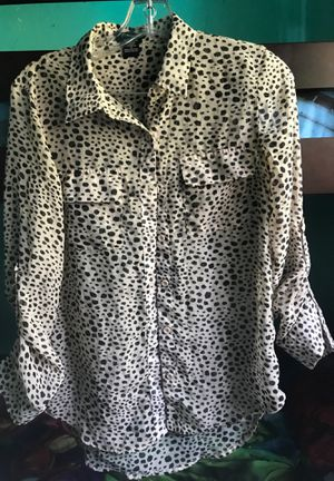 Animal print women's dress shirt size S for Sale in Baldwin Park, CA