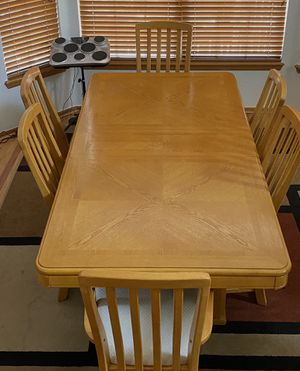 Dining table & Matching cabinet for Sale in Aurora, CO