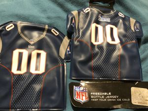 Patriots freezable bottle jersey for Sale in Chester, VA