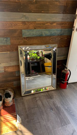 Large wall mirror - heavy duty - vanity mirror for Sale in Vancouver, WA