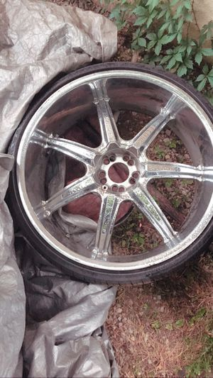 24in Rims all four with extra tires for Sale in Murfreesboro, TN