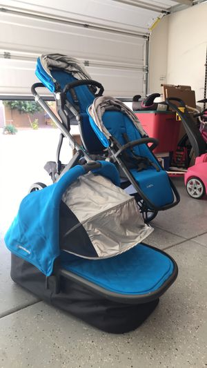 Uppababy vista double stroller for Sale in Chandler, AZ