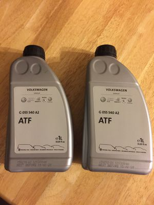 VW / Audi ATF gear oil x2 for Sale in Oak Glen, CA