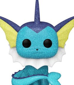 Funko Pop 2021 ECCC Official Con Sticker Pokemon Diamond Vaporeon In Hand for Sale in Orlando,  FL