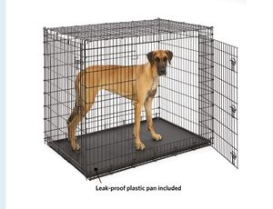 Double Door The extra (extra, extra, extra) large double door metal dog crate by MidWest Homes for Pets, Solution Series (model SL54DD), is a metal d for Sale in Reynoldsburg, OH