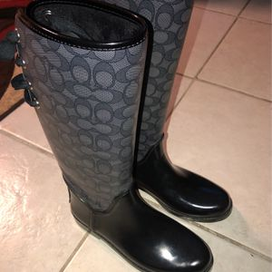 Coach Rain boots for Sale in The Bronx, NY
