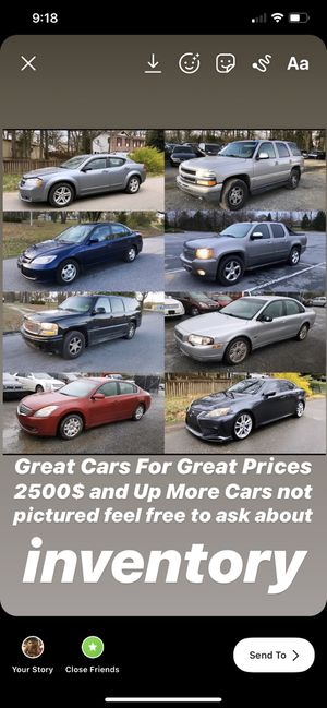 2500$ and Up great prices for Sale in Brandywine, MD
