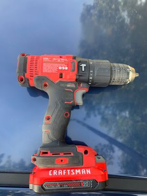 Craftsman hammer drill for Sale in Raleigh, NC