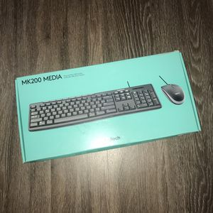 Logitech Keyboard & Mouse Bundle for Sale in Orange Beach, AL