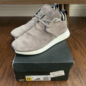 Adidas NMD C2 brown suede for Sale in Ontario, CA