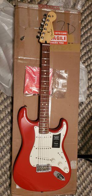Fender Player Stratocaster Electric Guitar - Pau Ferro Made in Mexico for Sale in Las Vegas, NV