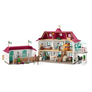 Schleich Horse Club, Large Horse Stable with House & Stable Playset and Toy Figures for Sale in Las Vegas, NV