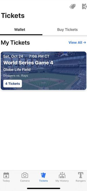 World series tickets for Sale in Dallas, TX