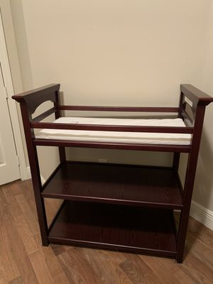 Changing table and pad for Sale in Coconut Creek, FL