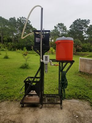 Gravity fed, full grain, beer brewing stand for Sale in Malabar, FL