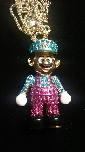 Betsey Johnson Super Mario necklace for Sale in Fresno, CA