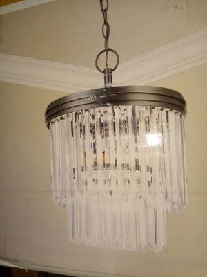 2 teir Crystal chandelier for Sale in Phoenix, AZ