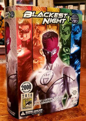 White Lantern Sinestro DC Direct SDCC Exclusive for Sale in Round Rock, TX