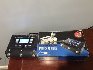 TC Helicon Vocal and Guitar effects pedal for Sale in Alexandria, VA