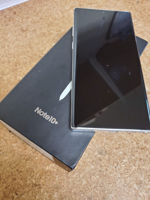 Samsung Galaxy Note 10 + 256GB White Smart Phone - Note 10 S9 S10 S10+ Plus for Sale in Ontario, CA