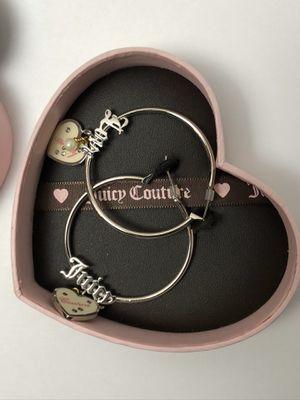 Juicy Couture Hoop Earrings for Sale in Dallas, TX