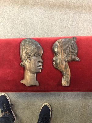 Hand Carved African Figurines for Sale in Garland, TX