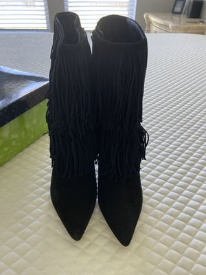Sam Edelman Fringe Boots for Sale in Pearland, TX