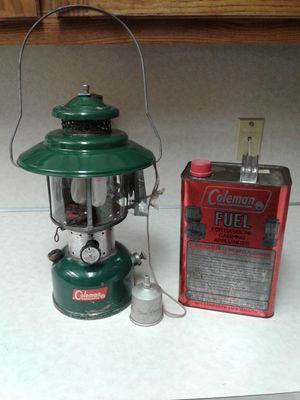 1960`s Colman llantern...fuel and funnel...$40.00 for Sale in Grove, OK