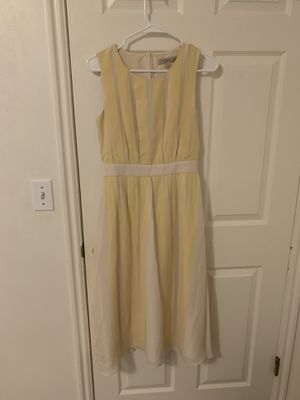Banana Republic Heritage yellow sheath dress size 0. for Sale in Salt Lake City, UT