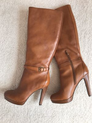 Womens Leather Knee Length Booths - Jessica Simpson for Sale in Mount Laurel Township, NJ