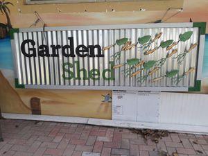 Huge Garden shed metal sign. for Sale in Deerfield Beach, FL