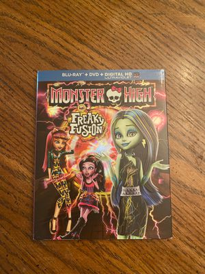 Monster High Freaky Fusion- Blu Ray / Dvd Brand New for Sale in Aliquippa, PA