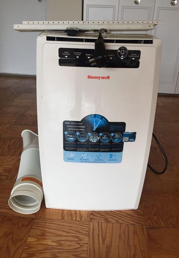 Honeywell MN10CESWW 10000 BTU Portable Air Conditioner, Dehumidifier & Fan