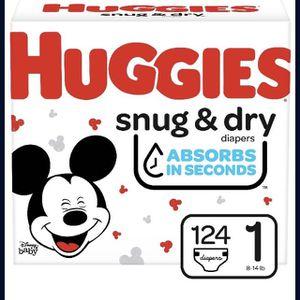 Huggies Snug&Dry Diapers Size 1 for Sale in Auburn, WA