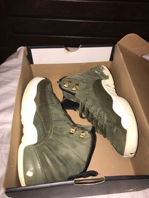 Jordan 12's Olive Green for Sale in Palo Alto, CA