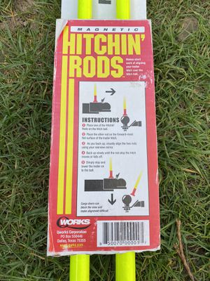 Magnetic hitching rods for Sale in Portland, OR