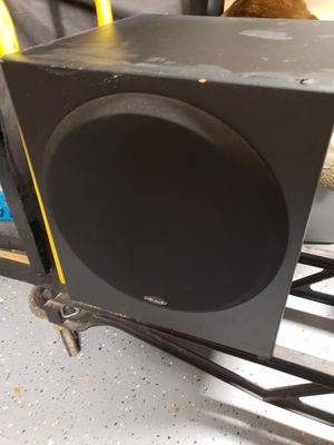 Polk audio powered woofer for Sale in Modesto, CA