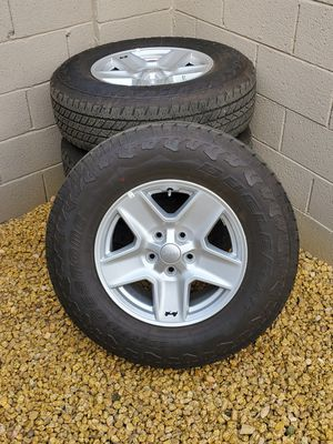 """17"""" Jeep Tires and wheels for Sale in Goodyear, AZ"""