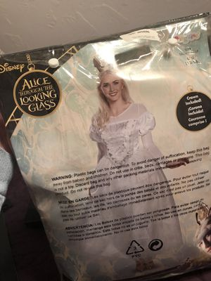 Halloween Costume Real wig included for Sale in Arlington, TX