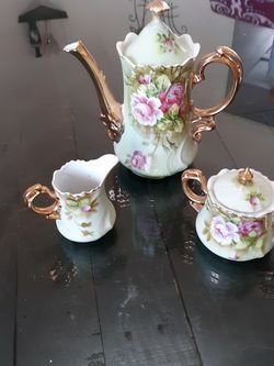 Lefton Fine China Teapot Set for Sale in Cypress,  TX