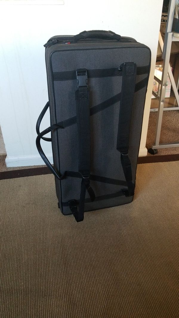 saxophone and trumpet case