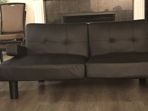 Leather Futon for Sale in Federal Way, WA